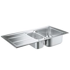 Мойка кухонная с двумя чашами Grohe 31567SD0 фото