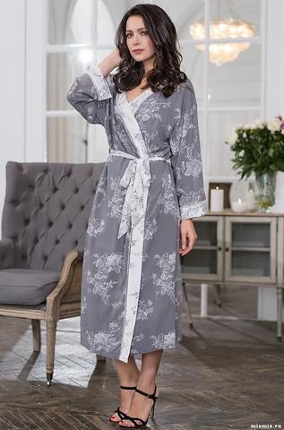 Длинный запашной халат Mia-Mella COLLETT 6559