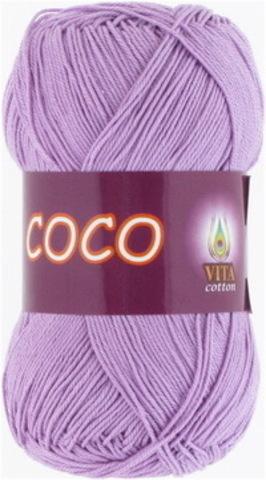 Пряжа Coco (Vita cotton) 3869 Сиреневый
