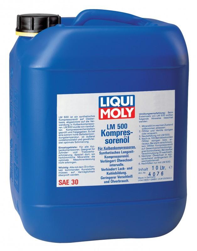 Liqui Moly LM 500 Kompressorenoil 30 (10л)- Синтетическое компрессорное масло