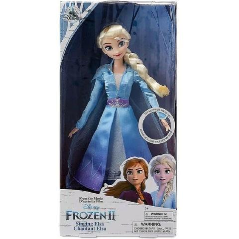 Дисней Холодное сердце 2 Эльза поющая кукла 28 см