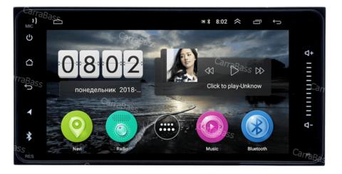 Магнитола для Toyota универсальная  CB7016T3 Android 9.0