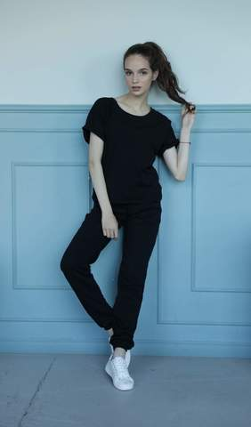 Брюки Basic Cotton Black
