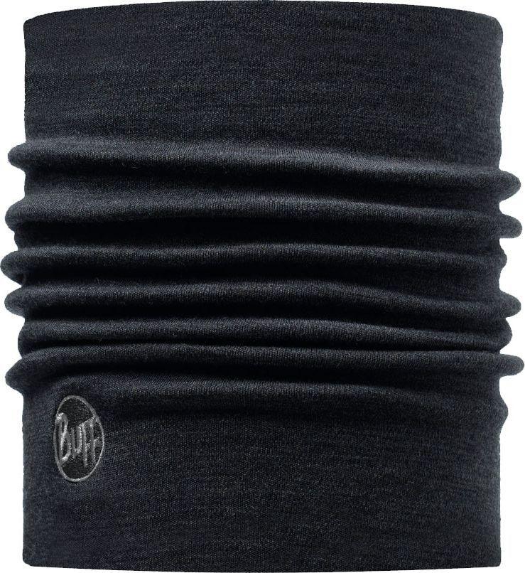 Шерстяные шарфы Зимний шарф-труба из шерсти Buff Black 110963.00.jpeg