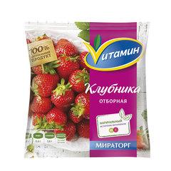 """Клубника с/м """"Vитамин"""" 300 г"""