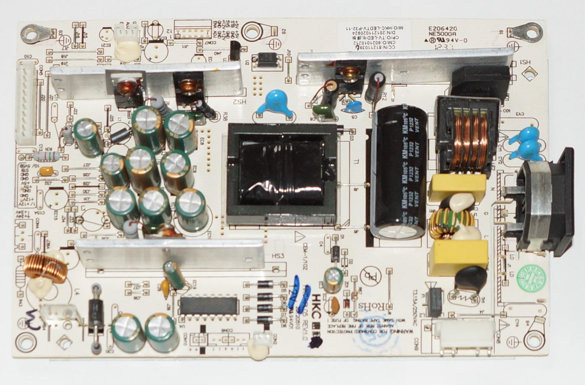HKC-PL05 REV1.0 блок питания телевизора Supra