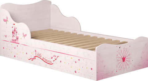 Кровать одинарная с ящиком 05 Принцесса-2 (компл. 1)