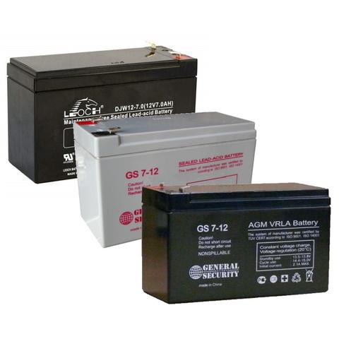 Аккумулятор GS 7-12 / Leoch DJW12-7 (12В 7А/ч)