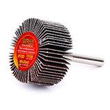 Круг MESSER шлифовальный лепестковый с оправкой (на шпильке) 40х20х6  #100