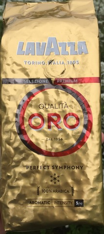 Кофе Lavazza Qualita Oro в зернах