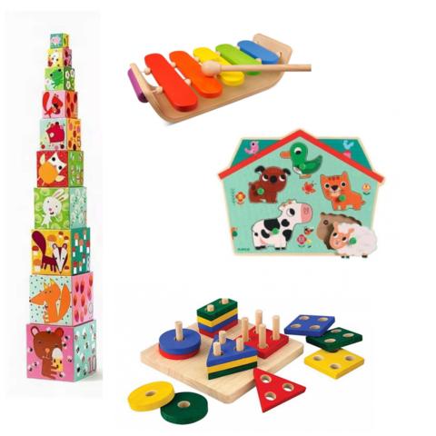 Набор игрушек 1-2 лет