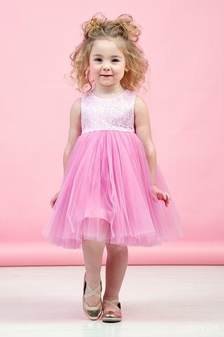 Милое розовое платье (арт.38-9005-2)