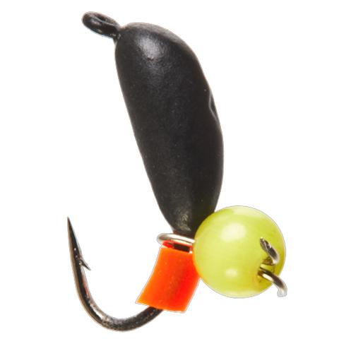 Мормышка вольфрамовая БАНАН с петел. и бисером кошачий глаз, 3 мм, цвет 10, арт. LJ11030-10