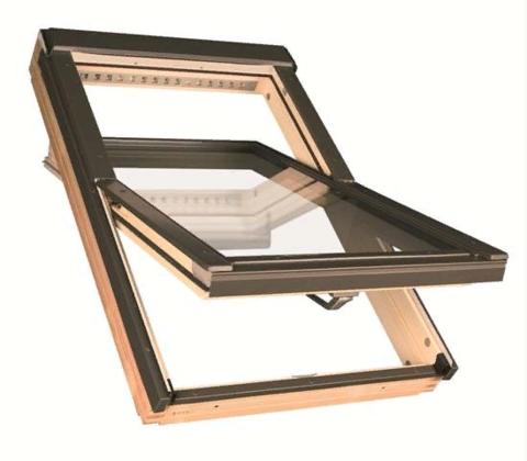 Мансардное окно Факро FTP-V U3 Profi 78х140