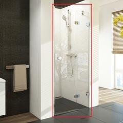 Дверь душевая распашная в нишу 90х195 см правая Ravak Brilliant BSD2-90 A-R 0UP7AA00Z1 фото
