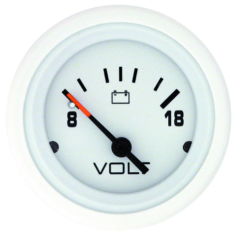 Вольтметр для Mercury/Mercruiser, 8-18 Вольт