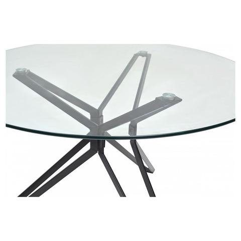 Стол VENETO D110 / прозрачное стекло