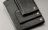 Футляр для визиток/кредитных карт Carandache Type 55 черный натуральная тисненая кожа (5731.455)