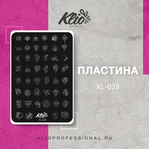 ПЛАСТИНА ДЛЯ СТЕМПИНГА KLIO PROFESSIONAL XL-028