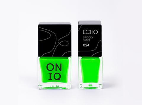 ONIQ  Лак для стемпинга. Echo: Spooky Juice 024