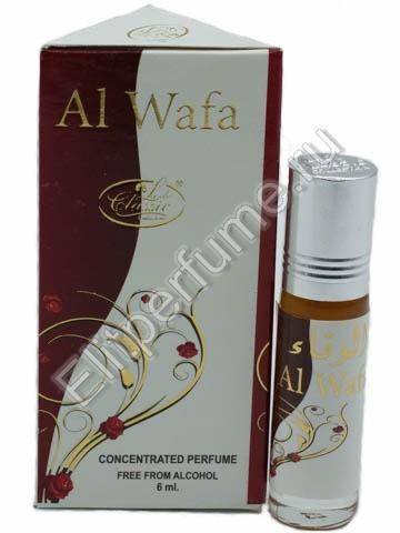 Lady Classic 6 мл Al Wafa масляные духи из Арабских Эмиратов