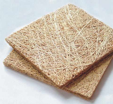 Акустическая панель WOOD WOOL  БАЗОВАЯ  на основе древесного волокна 20mm