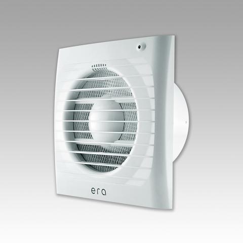 Накладной вентилятор Эра ERA 5С-02 D125 с обратным клапаноми тяговым выключателем