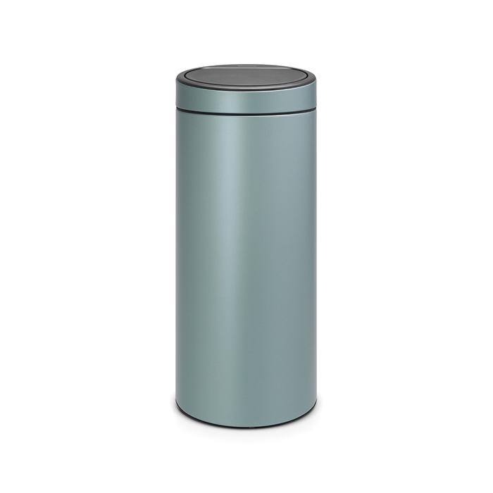Мусорный бак Touch Bin New (30 л), Мятный металлик, арт. 115424 - фото 1