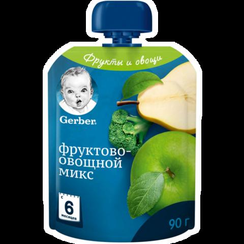 Пюре Фруктово-овощной микс