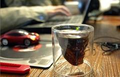 Стакан для виски Череп, большой, фото 3