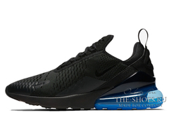 Кроссовки Мужские Nike Air Max 270 Black/Blue