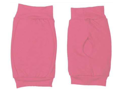 Наколенник для гимнастики и танцев ИНДИГО, р.L, цвет розовый (материал: трикотаж, поролон) :(р):