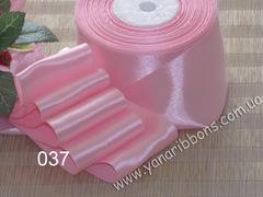 Лента атласная шириной 6мм розовая - 037