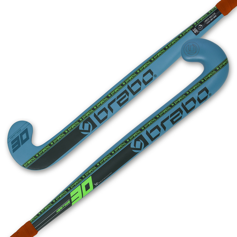 Клюшка для хоккея на траве BRABO BSJ200H G-Force Heritage 30 Petrol/Lime юниорская