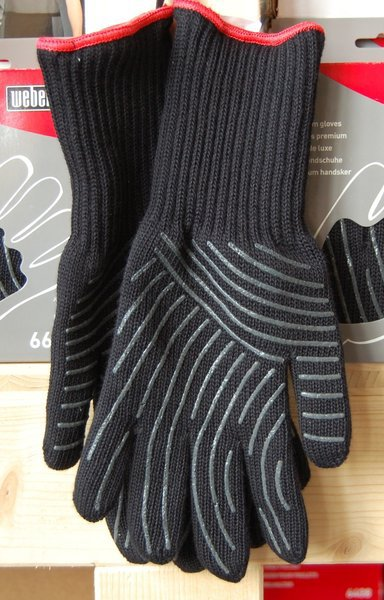 Перчатки Weber BBQ Mitt  Black Размер (S/M).