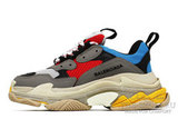 Кроссовки Balenciaga Triple S Grey Red Yellow