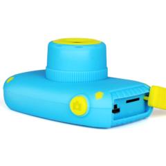 Фотоаппарат детский SmileZoom Зайчик 20 Мп / Голубой + вид сбоку