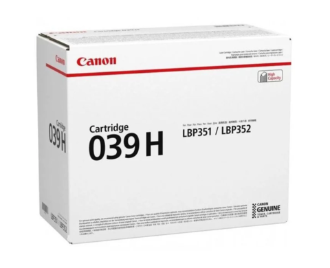 Картридж Canon 039H BK черный увеличенной емкости 0288C001