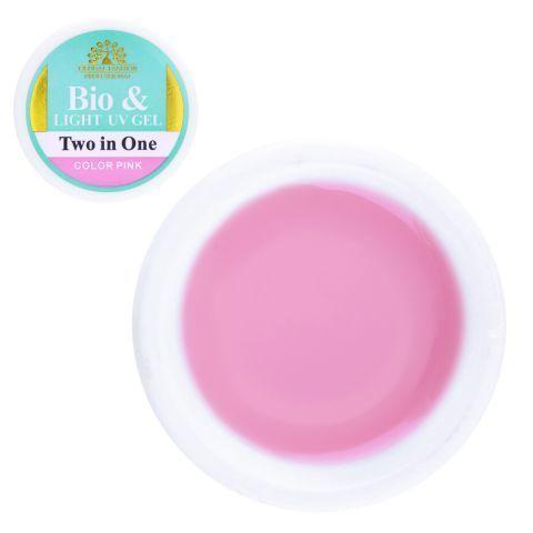 Гель био Global Fashion color pink  15 gr