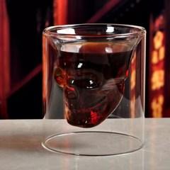 Стакан для виски Череп, большой, фото 5