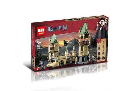 Конструктор Гарри Поттер 522д LEPIN 16028 замок Хогвартс дементры