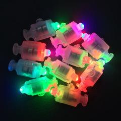 Светодиодный модуль для подсветки шар / Разноцветный с кнопкой /10 шт.