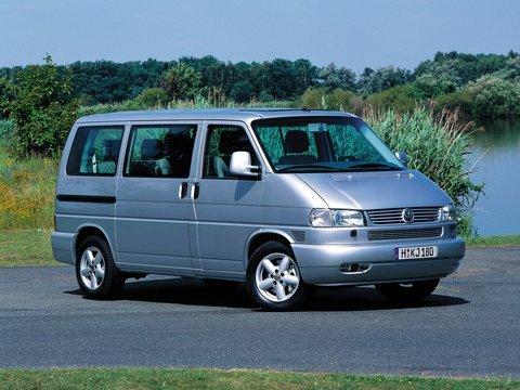 Чехлы на Volkswagen T4 микроавтобус Multivan / Caravelle / Transporter 1990–2003 г.в.
