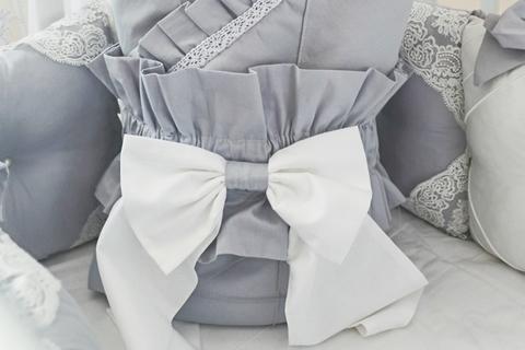 Бант на одеяло Gray