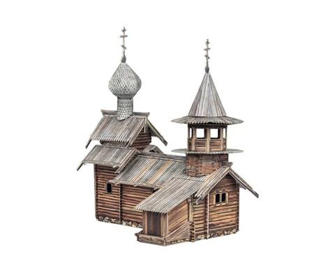 Часовня Архангела Михаила (о. Кижи) Сборная модель из картона