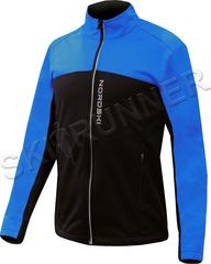 Детская тёплая лыжная куртка Nordski Active Blue-Black 2020