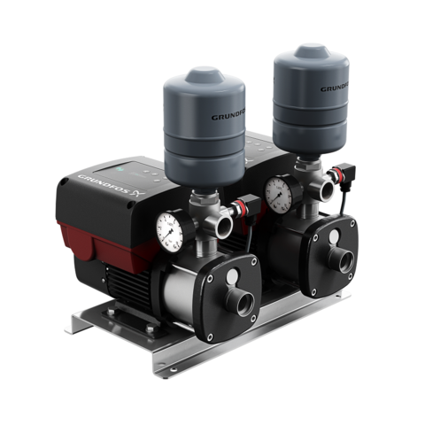 Насосная установка повышения давления - Grundfos CMBE TWIN 3-62 Fuse Box