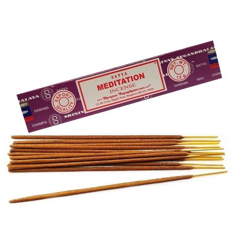 Индийские палочки Satya Meditation
