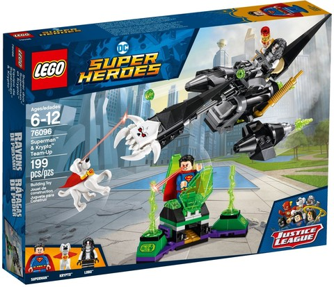 LEGO Super Heroes: Супермен и Крипто объединяют усилия 76096 — Superman & Krypto Team-Up — Лего Супергерои ДиСи