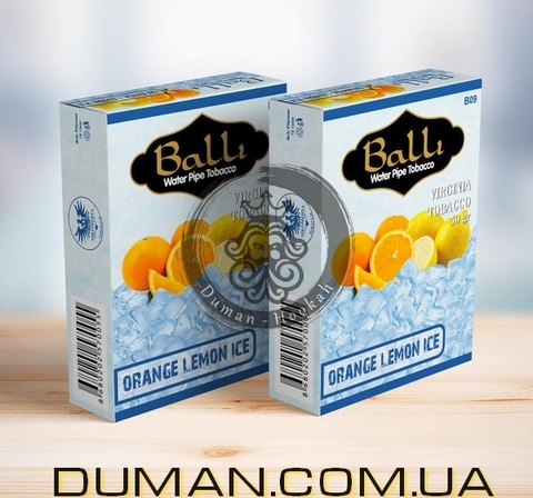 Табак Balli ORANGE LEMON ICE (Балли Лед Апельсин Лимон)
